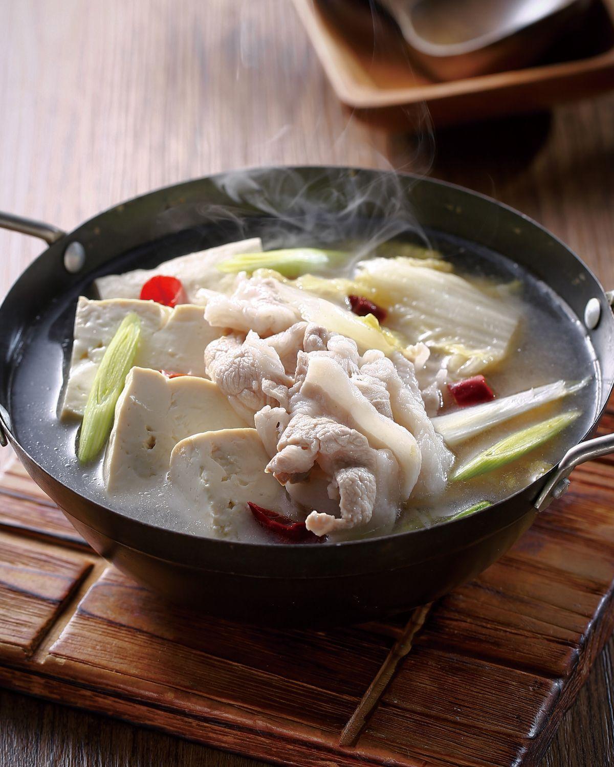 食譜:豬肉酸白菜鍋