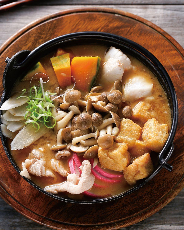 食譜:什錦味噌鍋