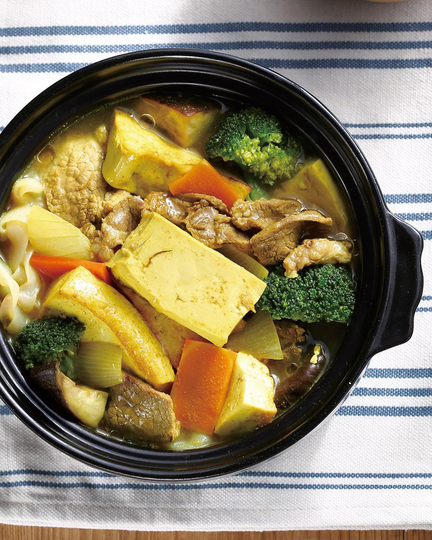 食譜:咖哩豆腐煲(1)