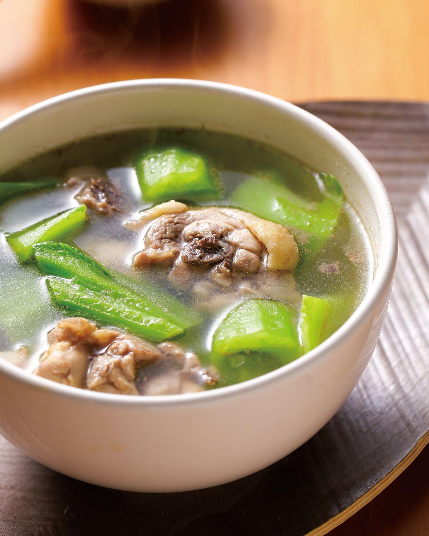 食譜:芥菜雞湯(3)