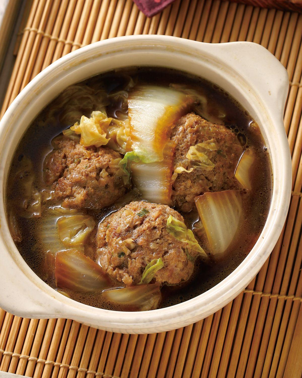 食譜:白菜獅子頭(5)