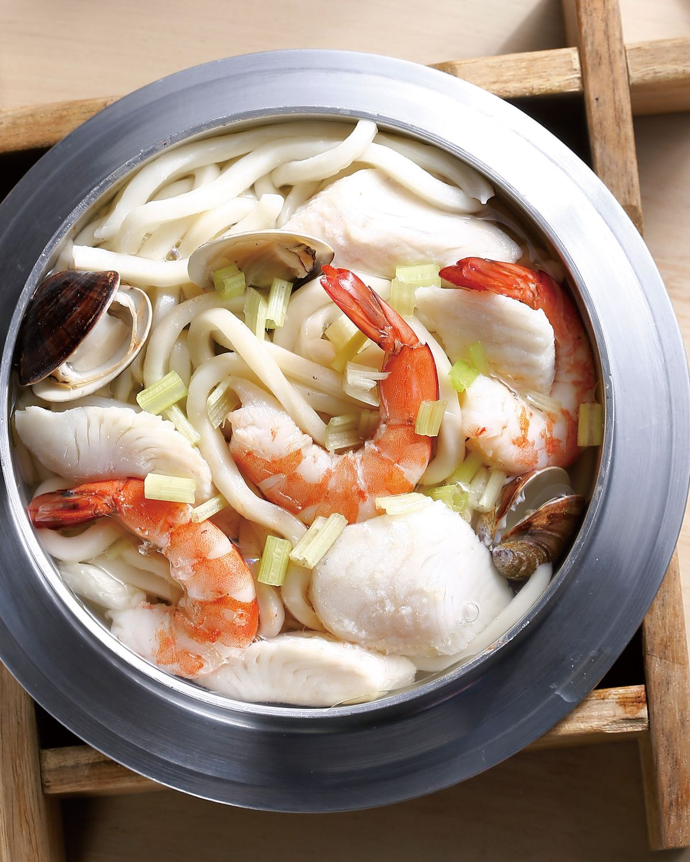 食譜:海鮮鍋燒麵