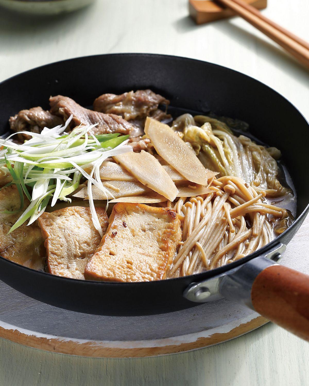 食譜:壽喜燒(6)
