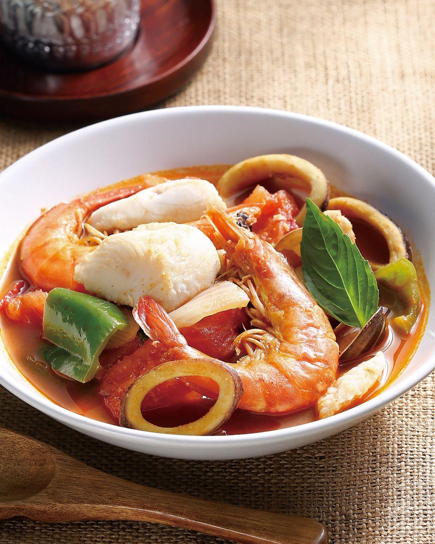 食譜:泰式酸辣海鮮(2)