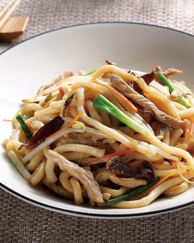 食譜:肉絲米苔目