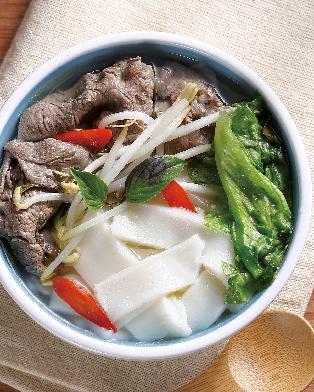 食譜:牛肉湯河粉(1)