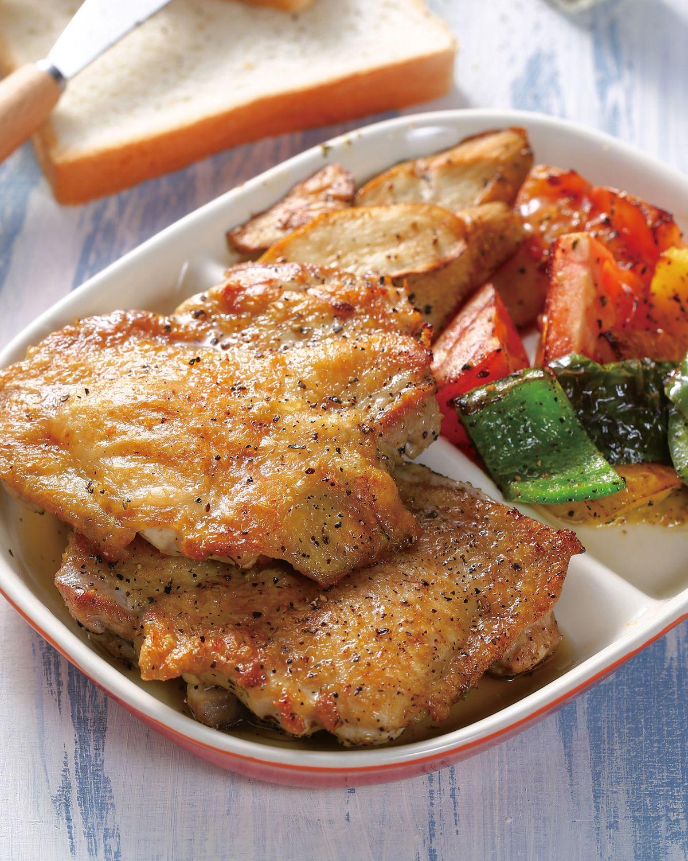 食譜:番茄香料烤雞排