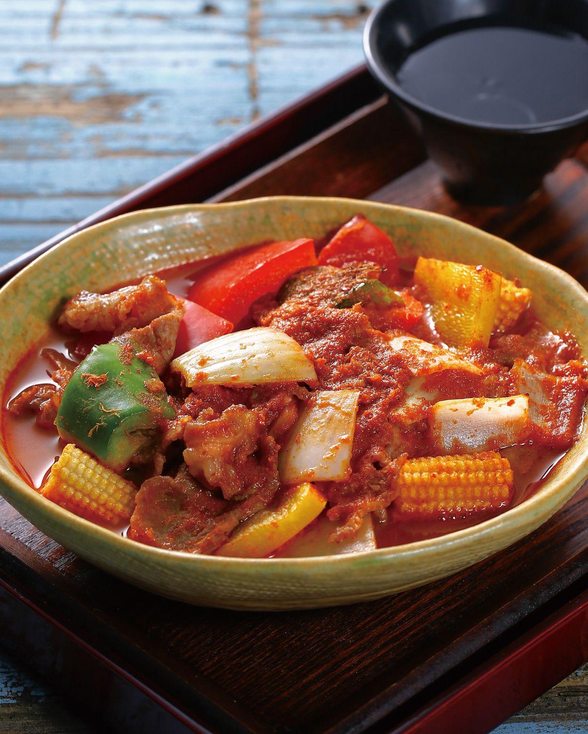 食譜:泰式咖哩肉片