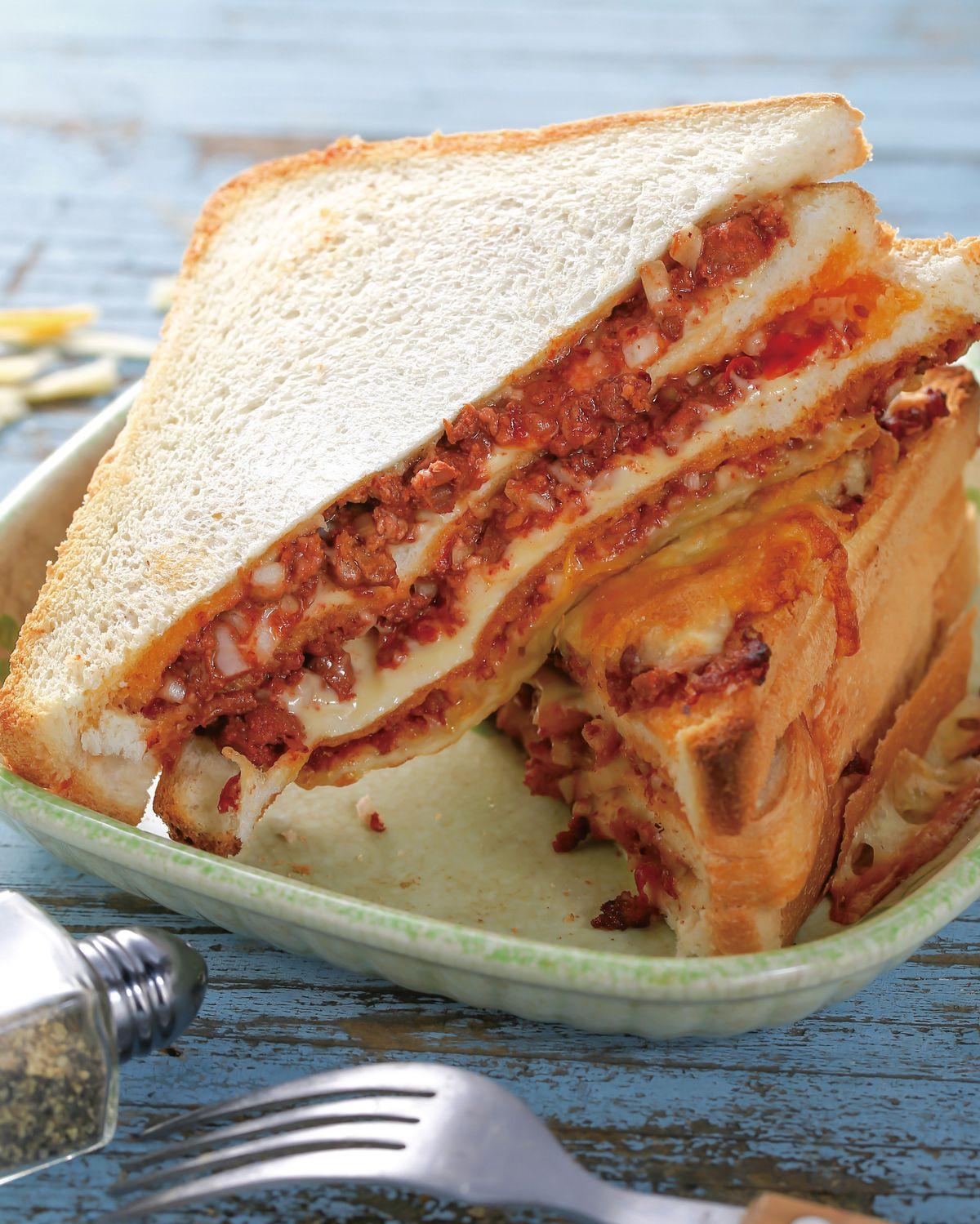 食譜:焗烤肉醬吐司