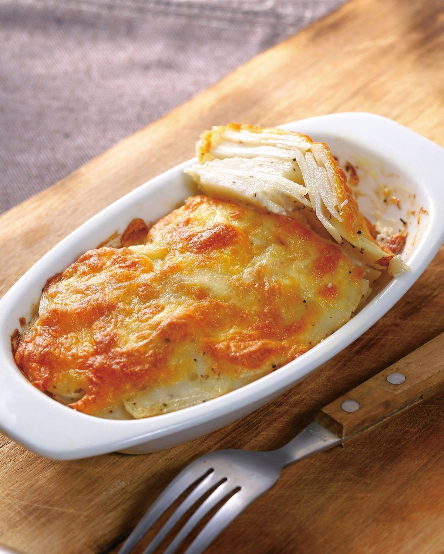 食譜:奶油烤千層馬鈴薯