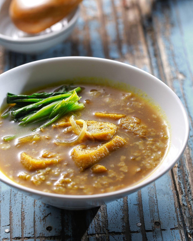 食譜:豆皮湯咖哩