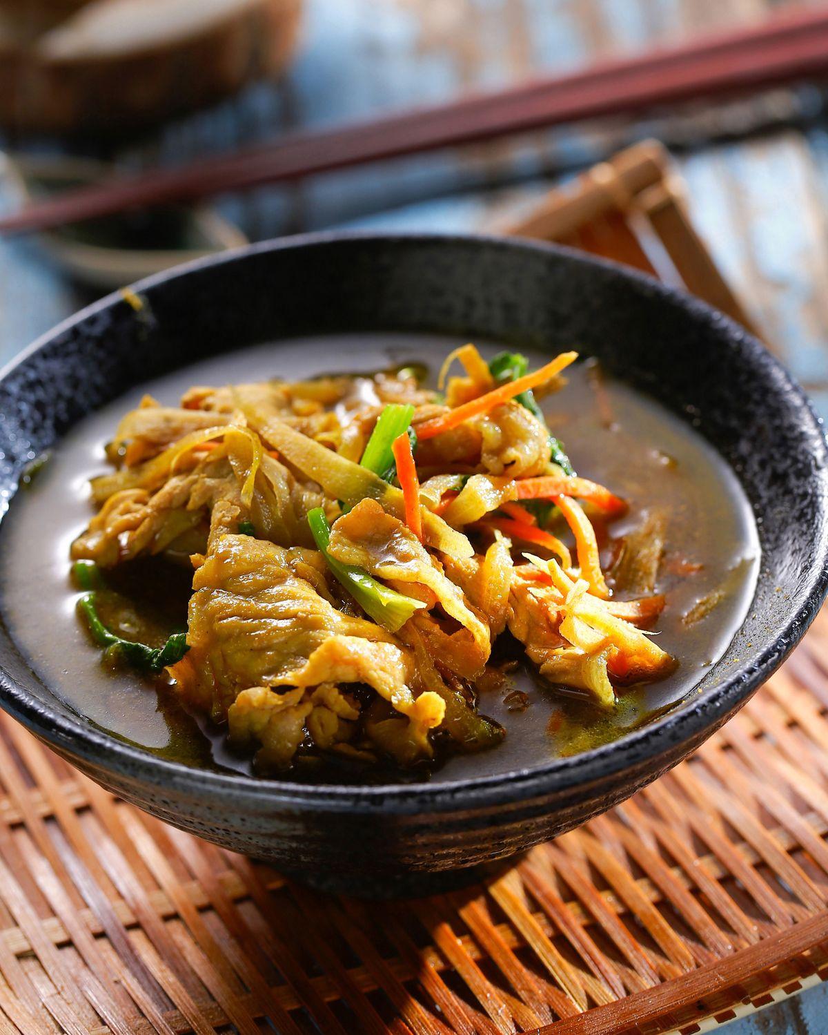 食譜:豬肉湯咖哩