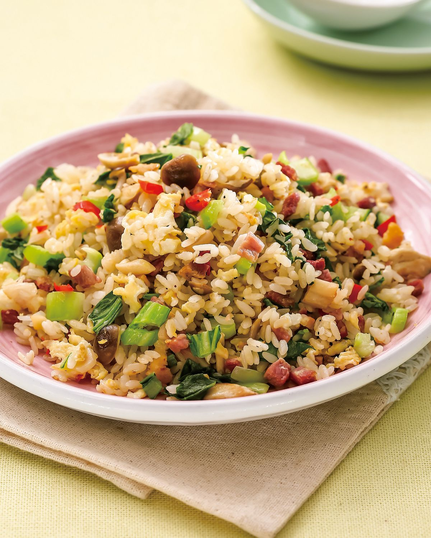食譜:翠玉家鄉肉炒飯