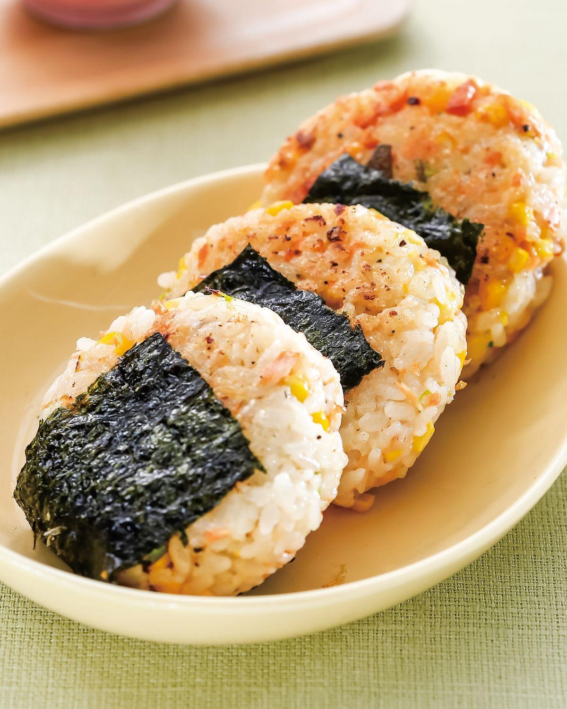 食譜:鮭魚煎飯餅