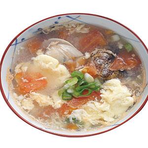 番茄蛤蜊蛋花湯