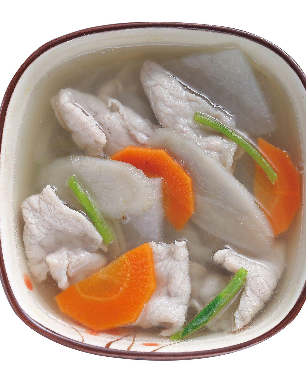 食譜:蔬菜肉片湯