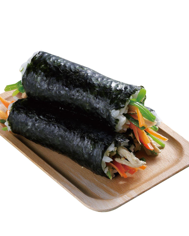 食譜:雞肉鮮蔬海苔飯卷