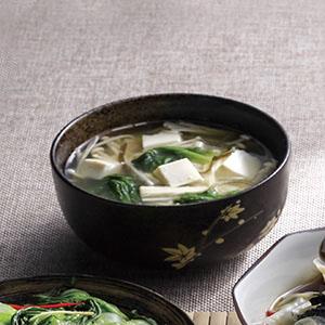 金針昆布豆腐味噌湯