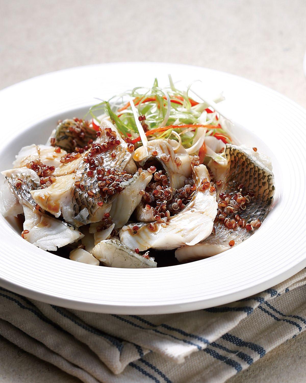 食譜:紅蔾蒸魚片