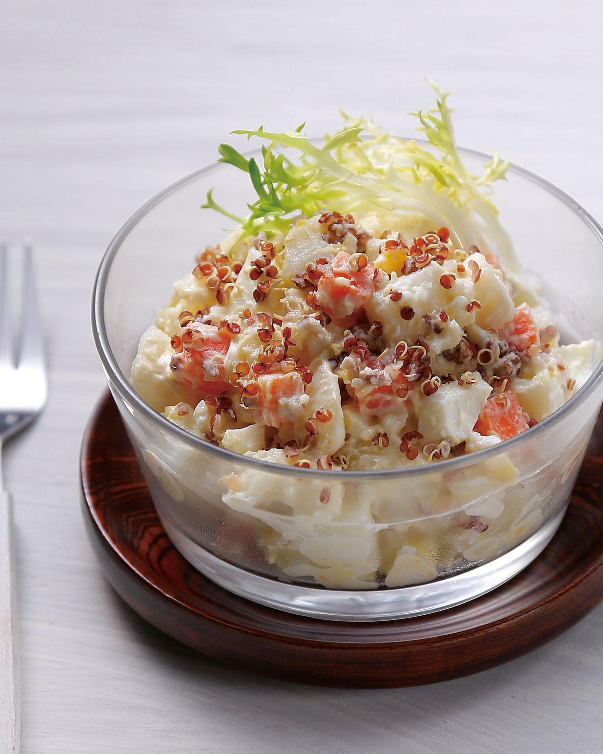 食譜:紅蔾馬鈴薯沙拉