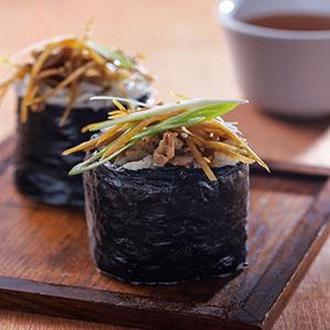 牛蒡燒肉飯卷