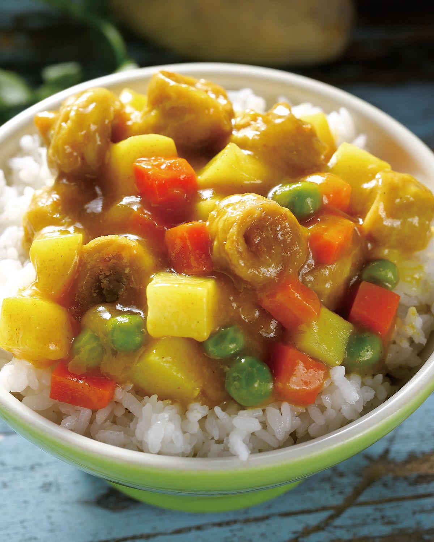 食譜:素咖哩雞蓋飯