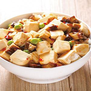 素麻婆豆腐蓋飯(2)