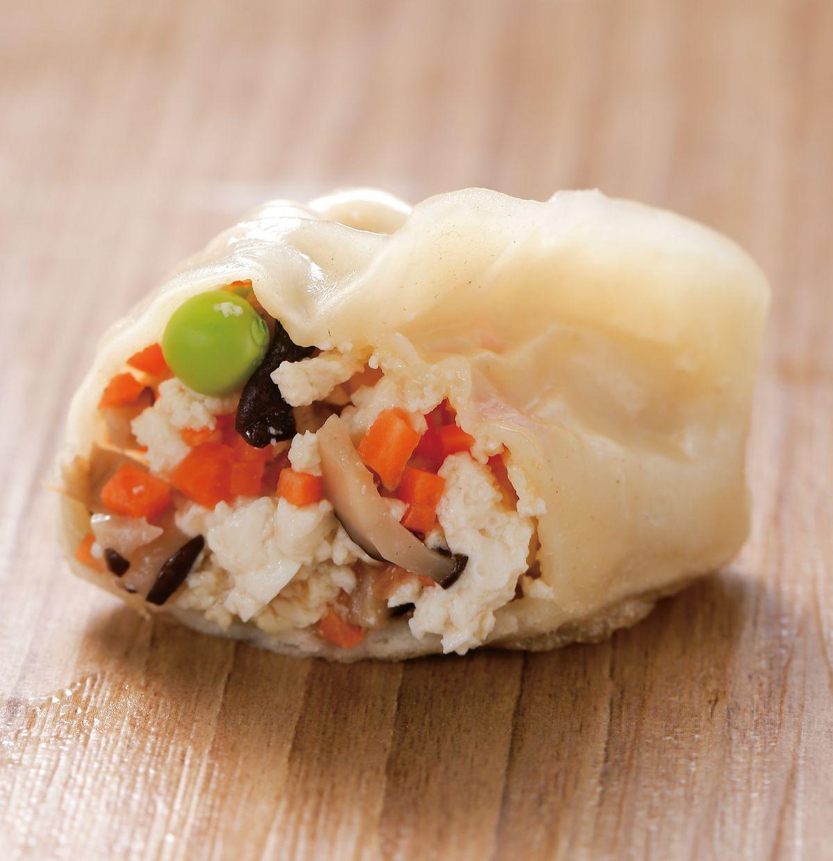 食譜:豆腐蔬菜餡