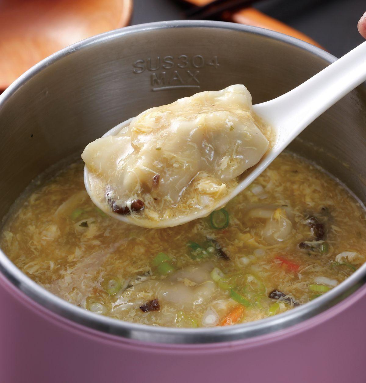 食譜:酸辣湯餃(2)