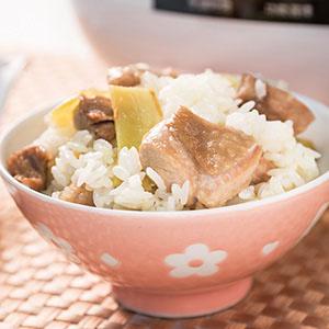 麻油雞飯(1)