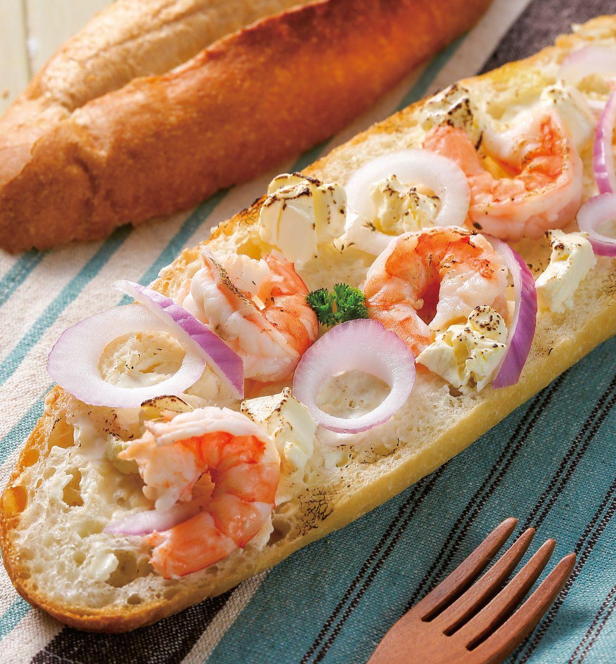 食譜:地中海鮮蝦起司