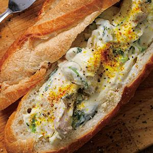 法式白醬菠菜雞