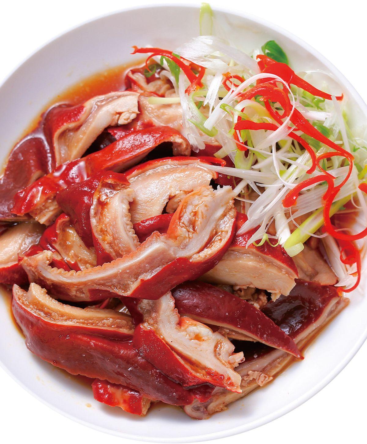 食譜:紅麴滷豬肚