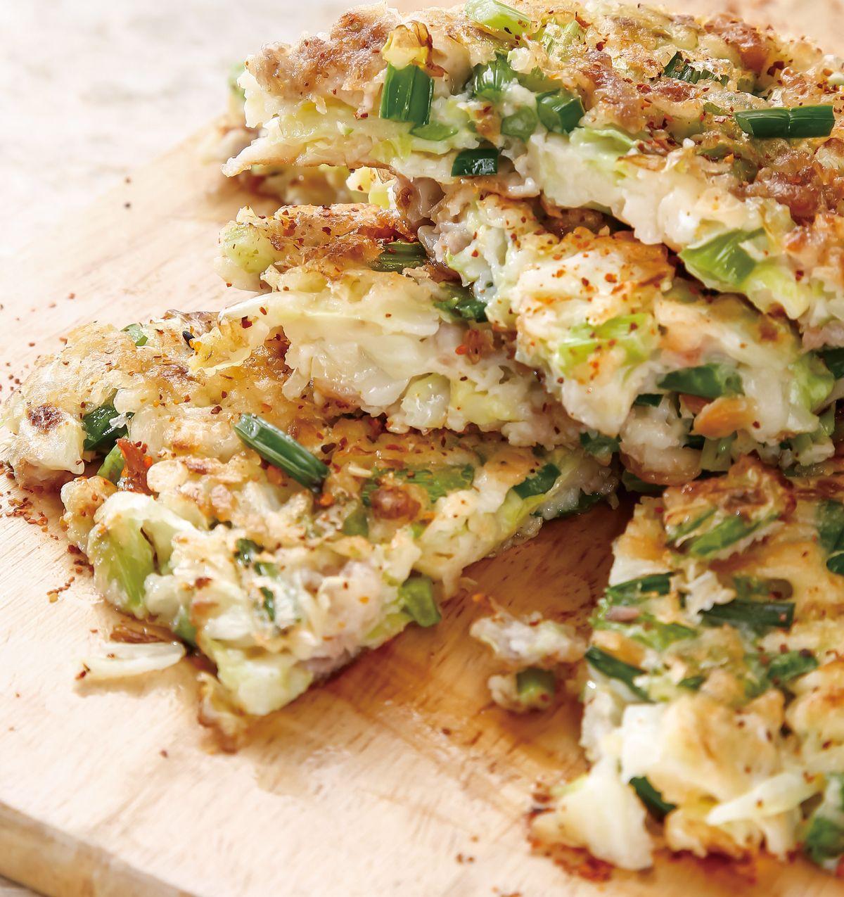 食譜:高麗韭菜花煎餅