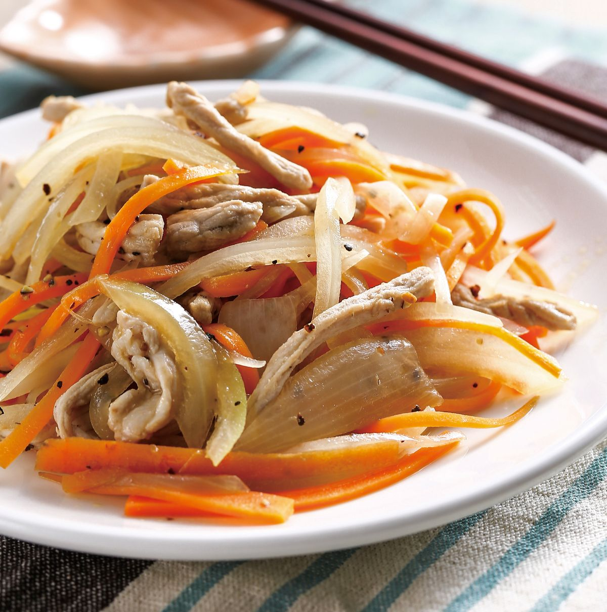 食譜:洋蔥肉絲