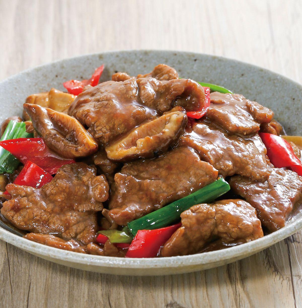 食譜:蠔油牛肉(12)