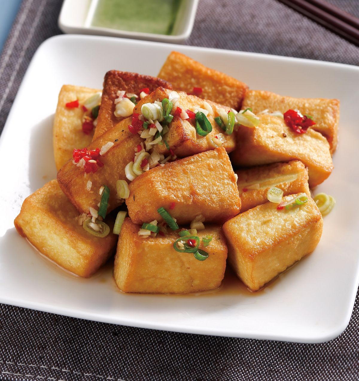 食譜:脆皮蛋豆腐
