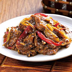 黑胡椒牛柳(4)