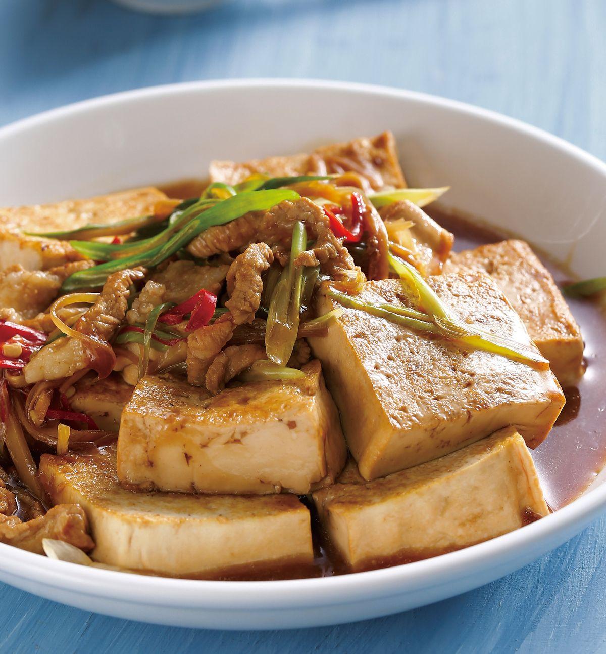 食譜:家常燒豆腐(1)