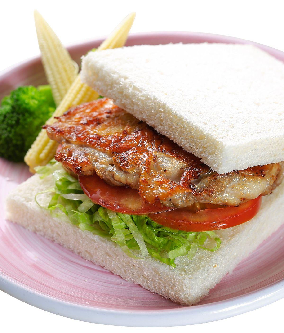 食譜:雞排三明治