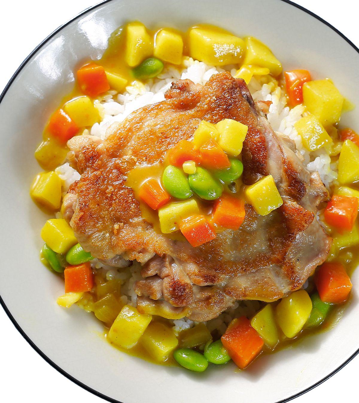 食譜:咖哩雞排(4)