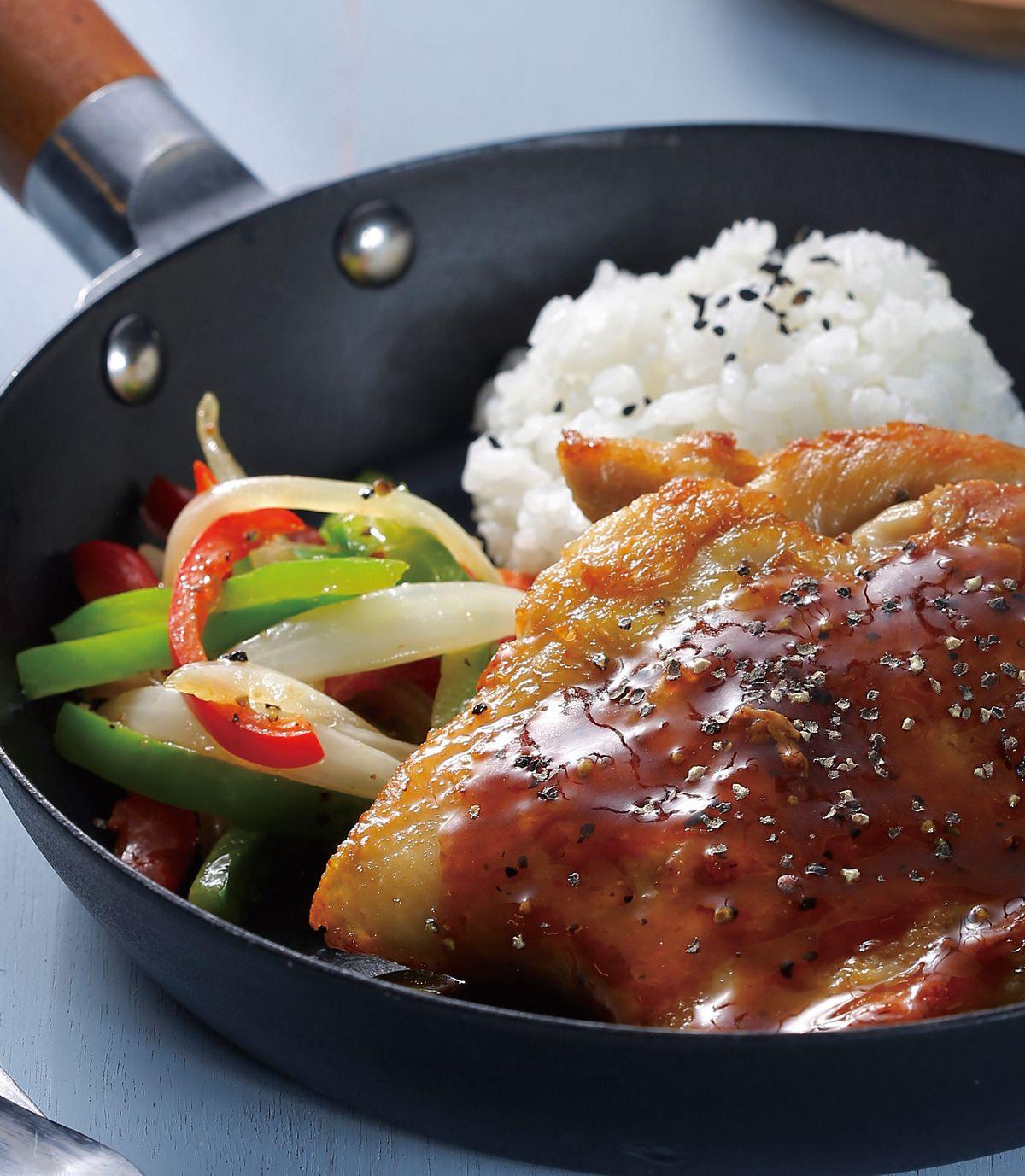 食譜:黑胡椒雞排(1)