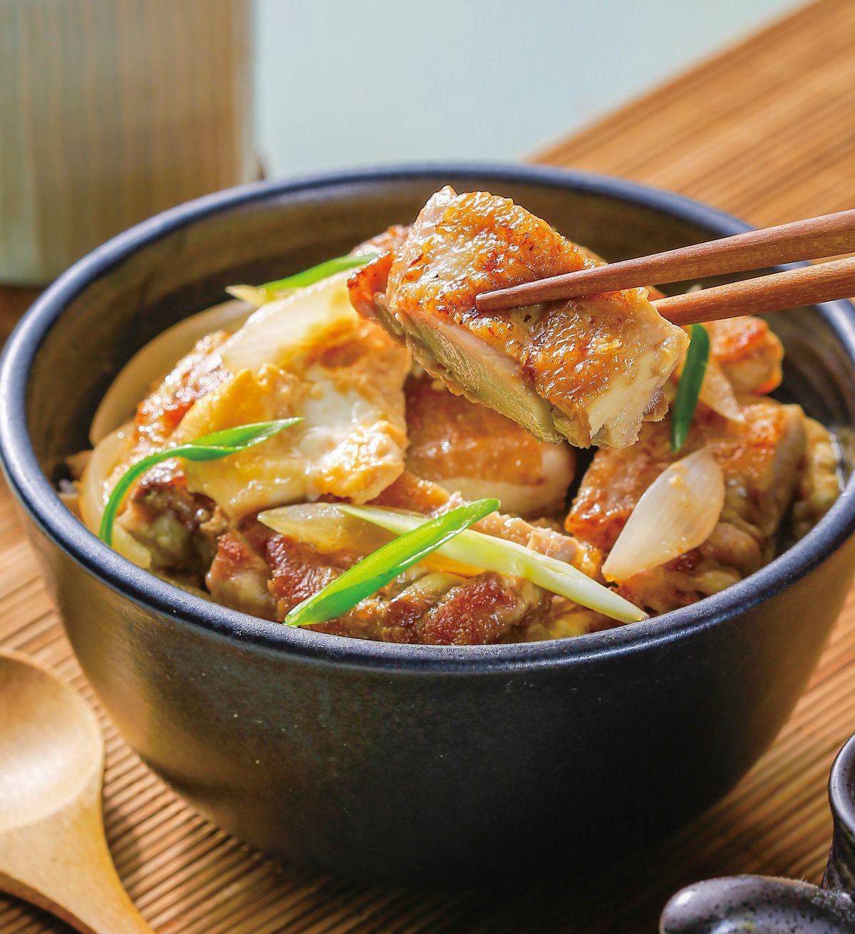 食譜:雞排親子丼
