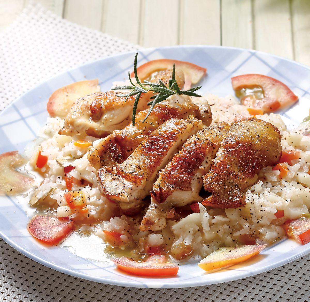 食譜:茄汁雞肉燉飯