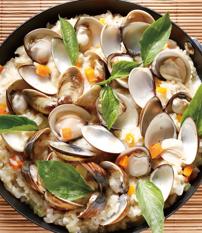 食譜:蛤蜊起司燉飯
