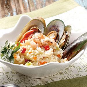 塔香海鮮燉飯(電鍋)