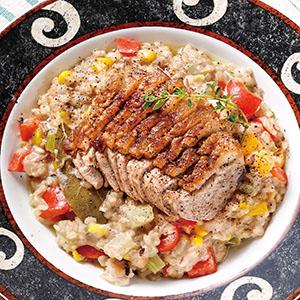 糙米燻鴨胸燉飯(電子鍋)