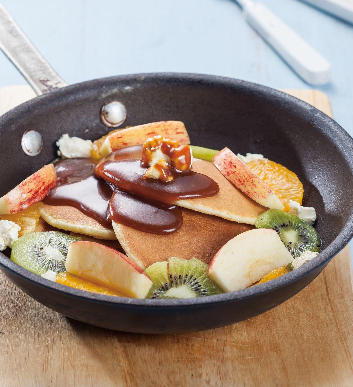 食譜:美式水果鬆餅
