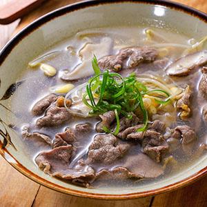 牛肉豆芽湯