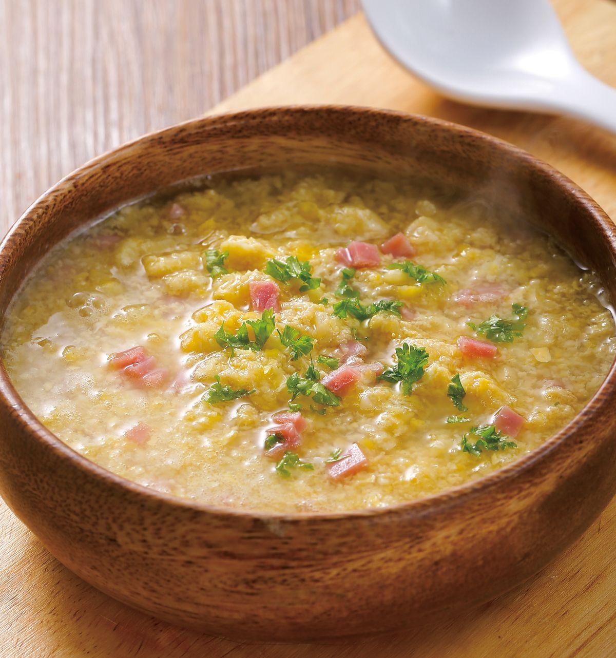 食譜:雞蓉玉米濃湯(3)